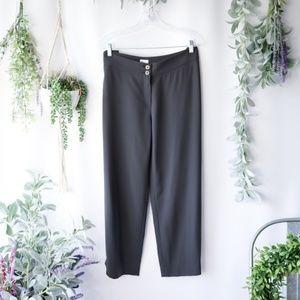 ARMANI COLLEZIONI wool straight crop trouser 314
